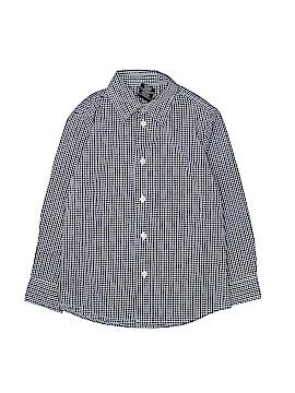 Nautica Short Sleeve Button-Down Shirt Size 6