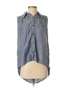 CAbi Sleeveless Button-Down Shirt Size S