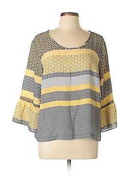 Zac & Rachel 3/4 Sleeve Blouse Size XL (Petite)