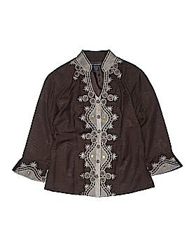 Saint Tropez West Silk Blazer Size S