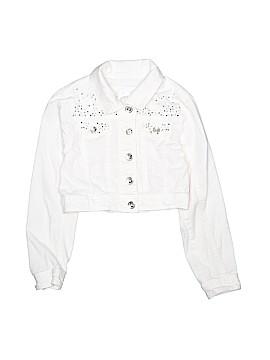 Justice Denim Jacket Size 6 - 7