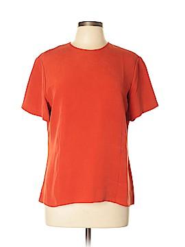 Chaus Short Sleeve Silk Top Size 12