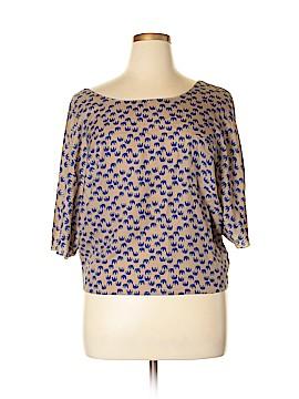 Xhilaration Short Sleeve Blouse Size XL - XXL