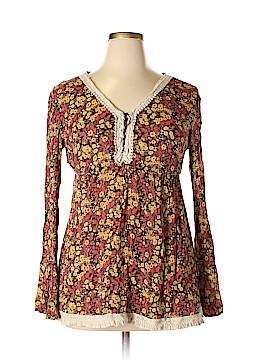 Decree Long Sleeve Blouse Size XL