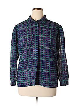 Koret Long Sleeve Blouse Size 16 (Petite)