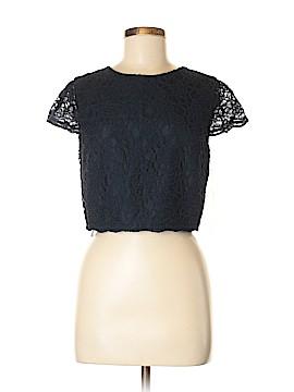 Bill Levkoff Short Sleeve Blouse Size 8