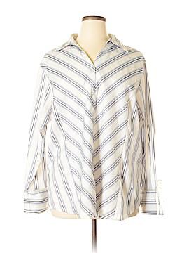 Ashley Stewart Long Sleeve Button-Down Shirt Size 22 (Plus)