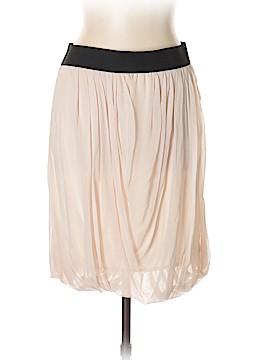 Saks Fifth Avenue Silk Skirt Size L
