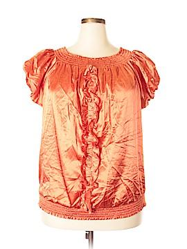 Ashley Stewart Short Sleeve Silk Top Size 20 (Plus)