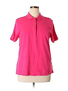 Kim Rogers Short Sleeve Polo Size XL