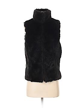 Vintage Havana Faux Fur Vest Size M