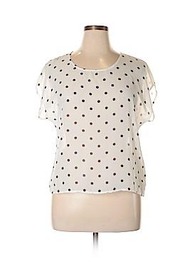 Delia's Short Sleeve Blouse Size XL