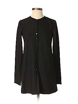 Eileen Fisher Long Sleeve Button-Down Shirt Size P