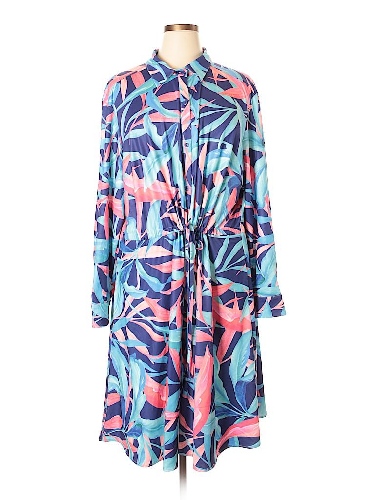 Hutch Women Casual Dress Size 3X (Plus)