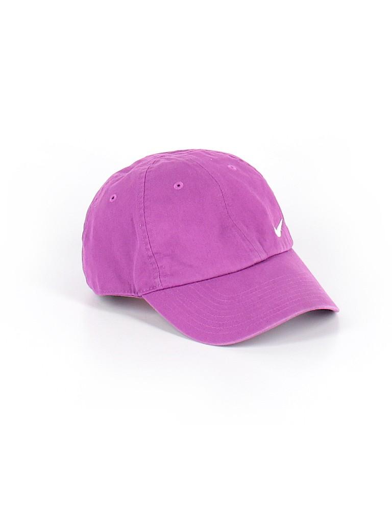 Nike 100% Cotton Solid Dark Purple Baseball Cap One Size - 91% off ... 60c6bbc1b77