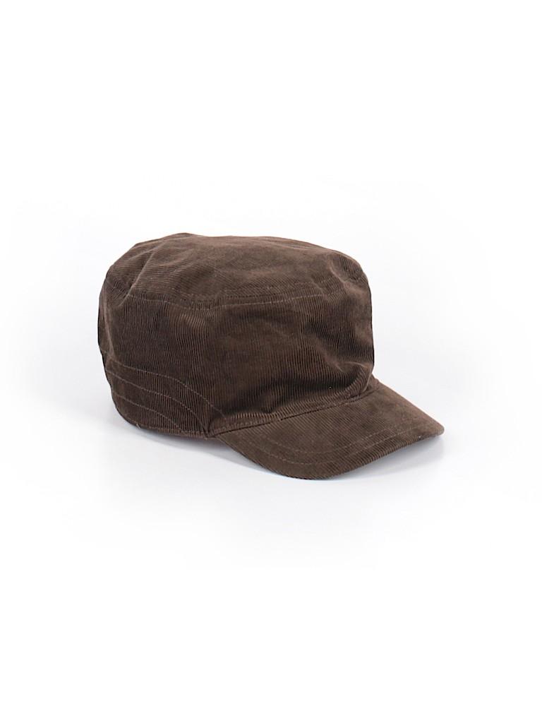7150445f1c4 Gymboree 100% Cotton Solid Brown Hat Size M (Kids) - 40% off