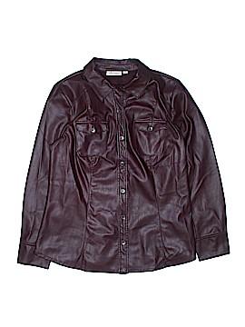 D&Co. Faux Leather Jacket Size M
