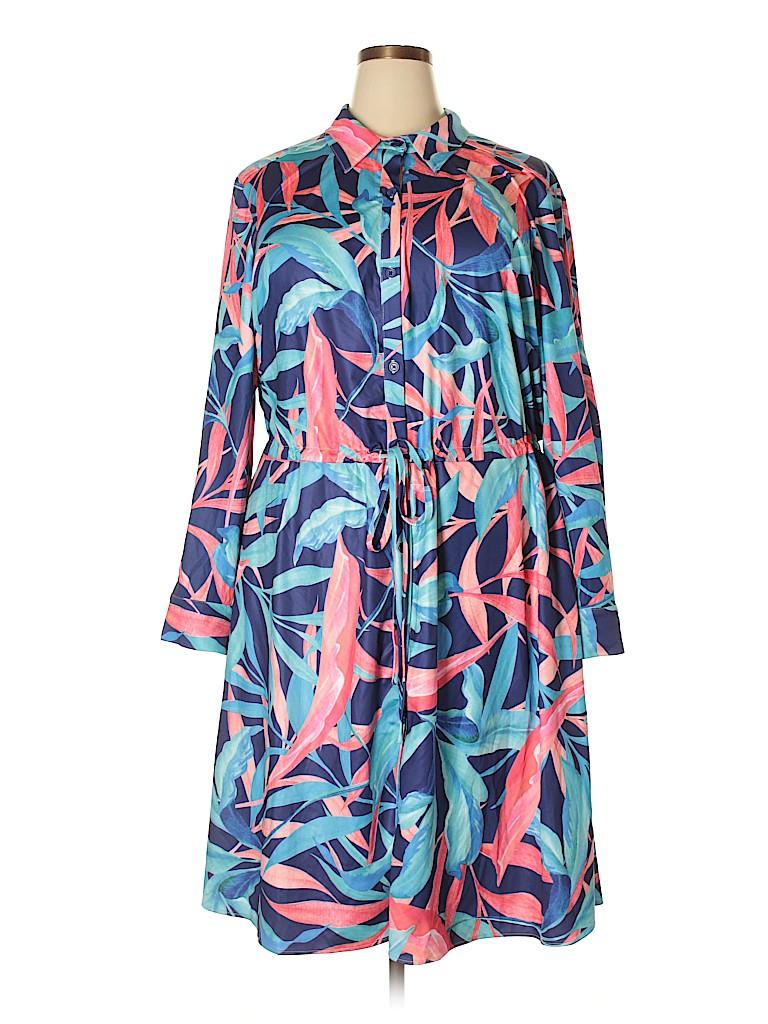 Hutch Women Casual Dress Size 1X (Plus)