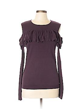 Cotton by Autumn Cashmere Long Sleeve Top Size L