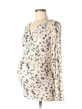 H&M Mama Long Sleeve Henley Size M (Maternity)