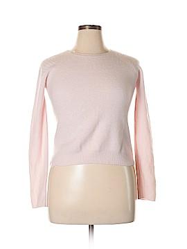 Velvet Cashmere Pullover Sweater Size L