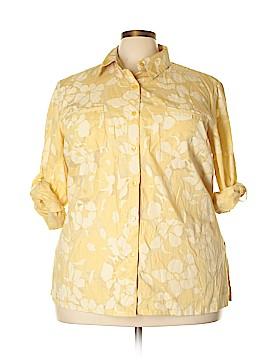 Norton McNaughton Long Sleeve Button-Down Shirt Size 3X (Plus)