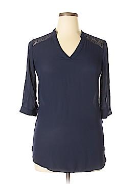 Iz Byer 3/4 Sleeve Blouse Size L
