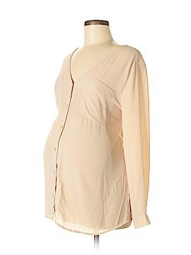 H&M Mama Long Sleeve Blouse Size M (Maternity)