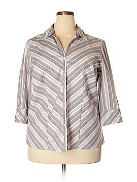 Fashion Bug 3/4 Sleeve Button-Down Shirt Size 18 - 20 (Plus)