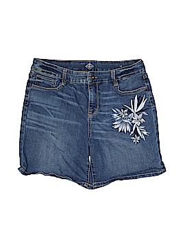 St. John's Bay Denim Shorts Size 14
