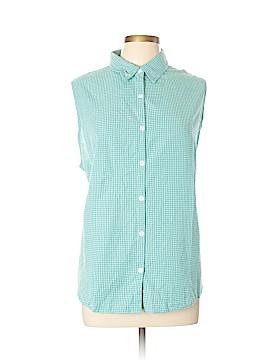Columbia Sleeveless Button-Down Shirt Size 3X (Plus)
