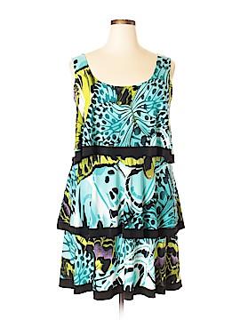 Evo Vorro Casual Dress Size 1X (Plus)