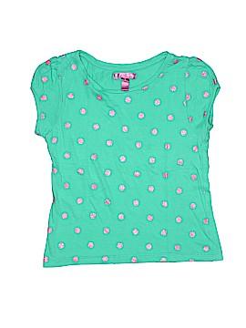 Aqua Short Sleeve T-Shirt Size 6X