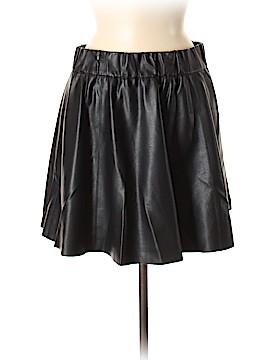 Club Monaco Faux Leather Skirt Size 6