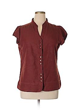 Kavu Short Sleeve Button-Down Shirt Size XL