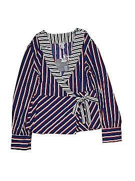 Paraphrase Long Sleeve Blouse Size L