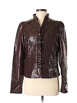 DressBarn Faux Leather Jacket Size M