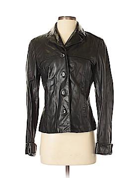 Ann Taylor Leather Jacket Size S
