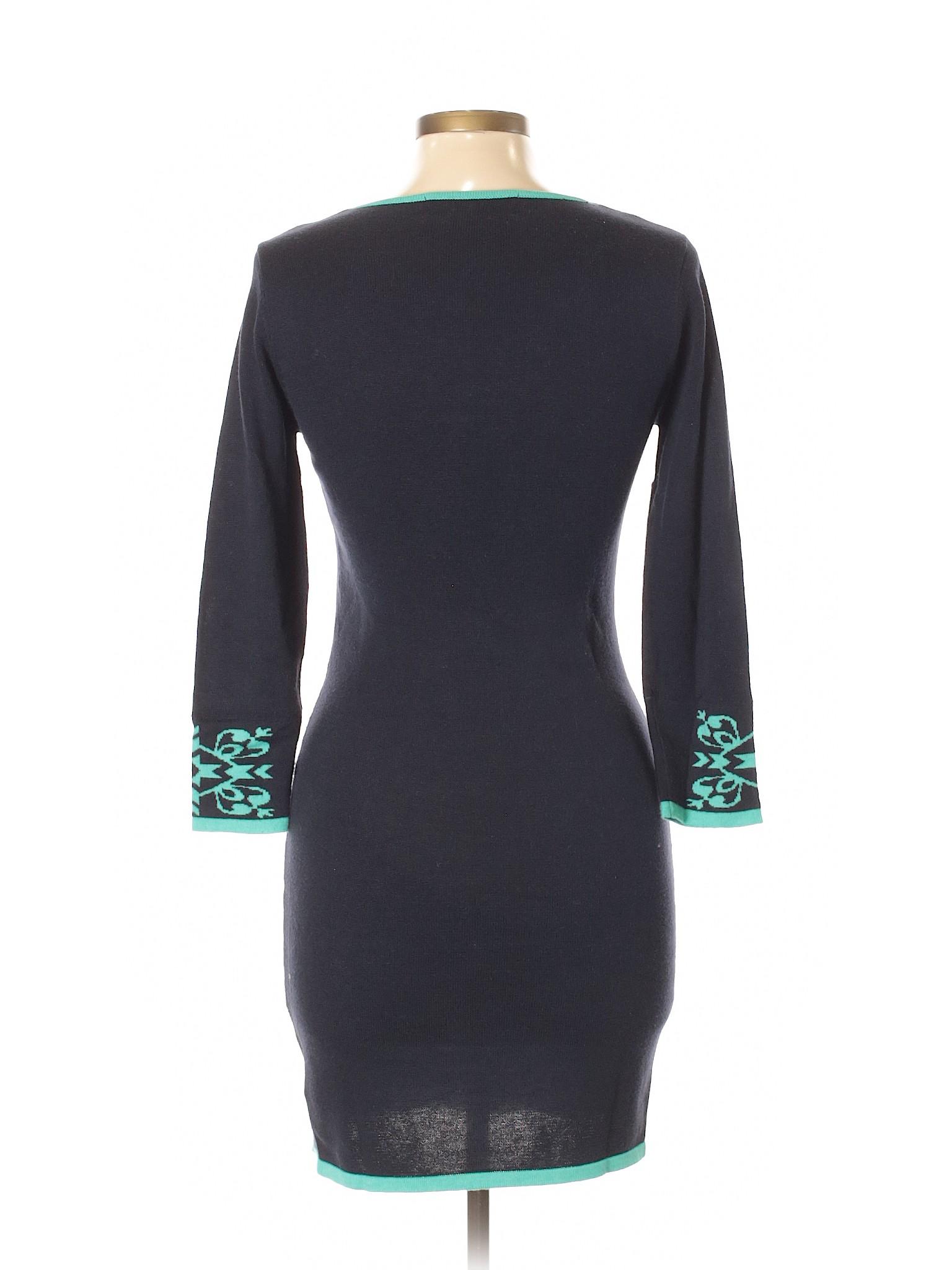 Boutique Dress Casual Rain Blue winter InPZqrI