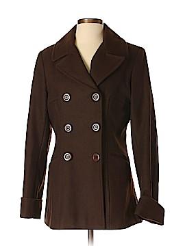Moda International Wool Coat Size M