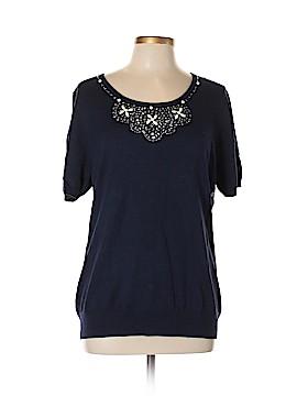 New York & Company Short Sleeve Blouse Size XL