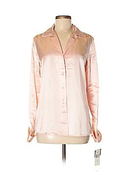 Lauren by Ralph Lauren Long Sleeve Silk Top Size 6