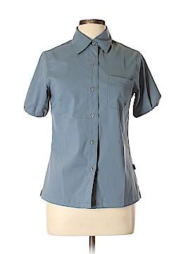 Volcom Short Sleeve Button-Down Shirt Size M
