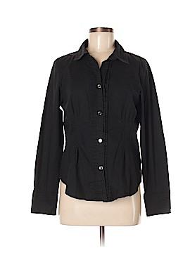 Bradley by Bradley Bayou Long Sleeve Button-Down Shirt Size M