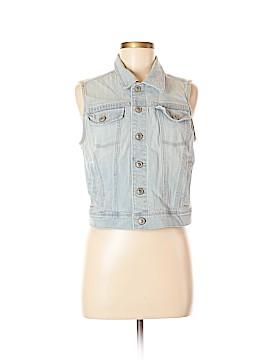 LC Lauren Conrad Denim Vest Size M