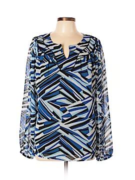 A.n.a. A New Approach Long Sleeve Button-Down Shirt Size XL