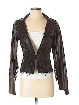 Donald J Pliner Leather Jacket Size 4