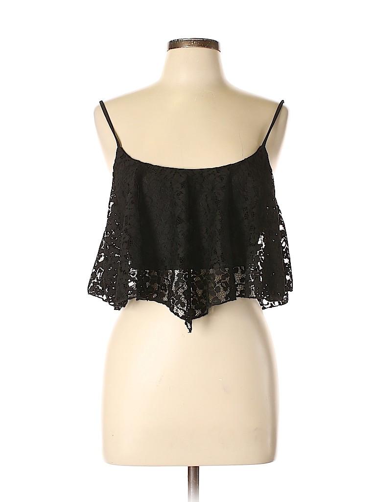 Kirra Women Sleeveless Blouse Size L