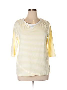 Cj Banks 3/4 Sleeve T-Shirt Size X