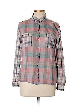 BDG Long Sleeve Button-Down Shirt Size L